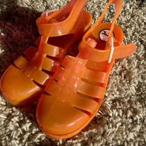 Sparkly Jelly Sandals